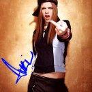 LevigneAvrilFU Autographed Preprint Signed Photo