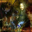 MORTENSENVIGGOCOLLAGE Autographed Preprint Signed Photo