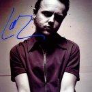 MetalicaLarsX Autographed Preprint Signed Photo