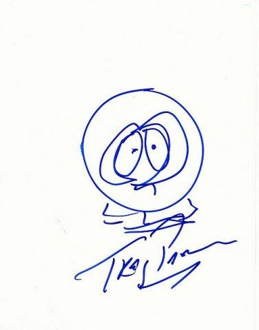 ParkerTrey Autographed Preprint Signed Photo