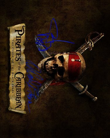 Pirates Autographed Preprint Signed Photo