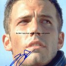 affleck Autographed Preprint Signed Photo