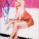 aguilera_ Autographed Preprint Signed Photo