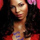 ashantiflower Autographed Preprint Signed Photo