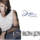 bonjoviEYES Autographed Preprint Signed Photo