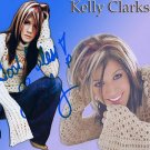 clarksonkelly Autographed Preprint Signed Photo