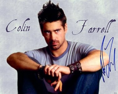 farrellcolinSPIKED Autographed Preprint Signed Photo