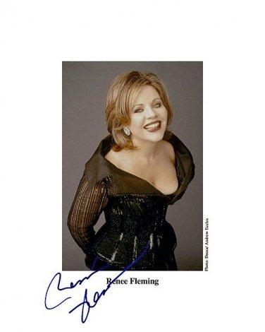 flemingreneeSmile Autographed Preprint Signed Photo