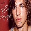 kutcherashtonb Autographed Preprint Signed Photo