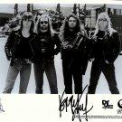 slayerbw Autographed Preprint Signed Photo