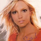 spearsA Autographed Preprint Signed Photo