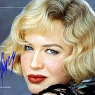 Rene Zellweger Autographed Preprint Signed Photo
