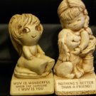 Collectible Antique Paula 1970 & 1983 Figurines Cute & Funny