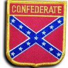 Confederate Shield Patch