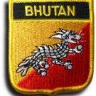 Bhutan Shield Patch