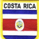 Costa Rica Shield Patch
