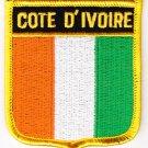 Ivory Coast Shield Patch