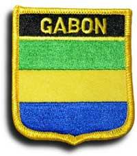 Gabon Shield Patch