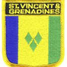 St. Vincent and the Grenadines Shield Patch