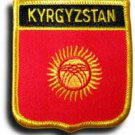 Kyrgyzstan Shield Patch