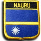 Nauru Shield Patch
