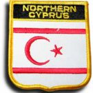 Northern Cyprus Shield Patch