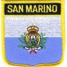 San Marino Shield Patch