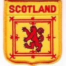 Scotland Shield Patch (Lion)