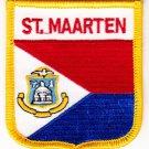 St. Maarten Shield Patch