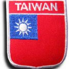 Taiwan Shield Patch