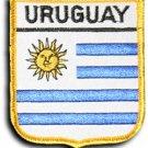 Uruguay Shield Patch