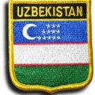 Uzbekistan Shield Patch