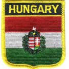 Hungary Shield Patch (Crest)