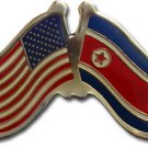 North Korea Friendship Pin