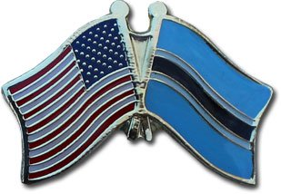Botswana Friendship Pin