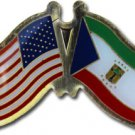 Equatorial Guinea Friendship Pin