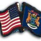 Michigan Friendship Pin