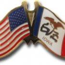 Iowa Friendship Pin