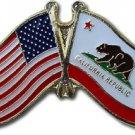 California Friendship Pin