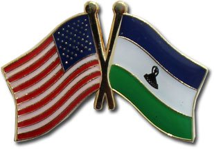 Lesotho Friendship Pin