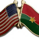Burkina Faso Friendship Pin