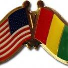 Guinea Friendship Pin
