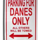 Denmark Parking Sign