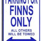 Finland Parking Sign