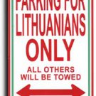Lithuania Parking Sign