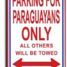 Paraguay Parking Sign