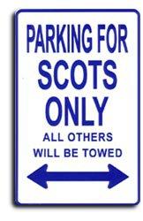 Scotland Parking Sign