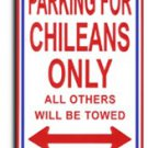 Chile Parking Sign