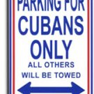Cuba Parking Sign