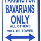 Bavaria Parking Sign